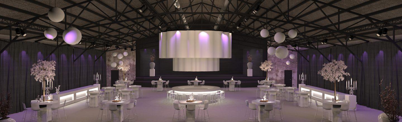 Bruiloft in evenementenlocatie De Veiling Poeldijk