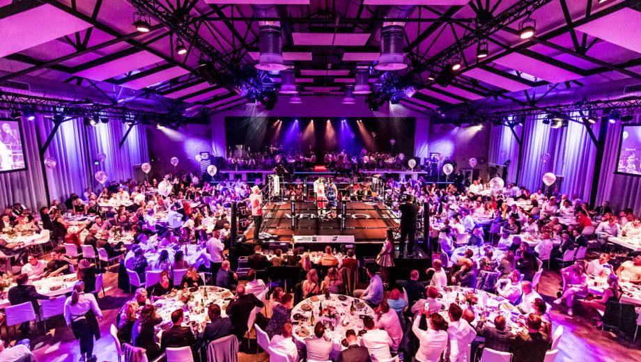 Westlands Boksgala in evenementenlocatie De Veiling Poeldijk