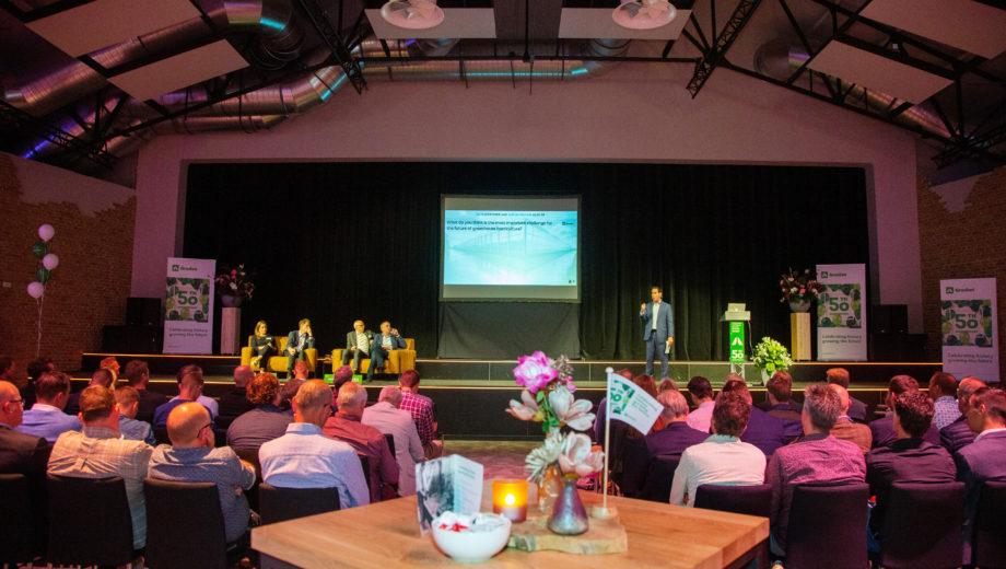 Congres van Grodan in evenementenlocatie De Veiling in Poeldijk
